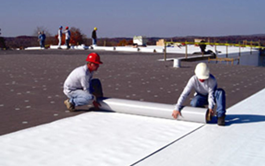Photo of Advanced Roofing Concepts - ARC installing commercial roof
